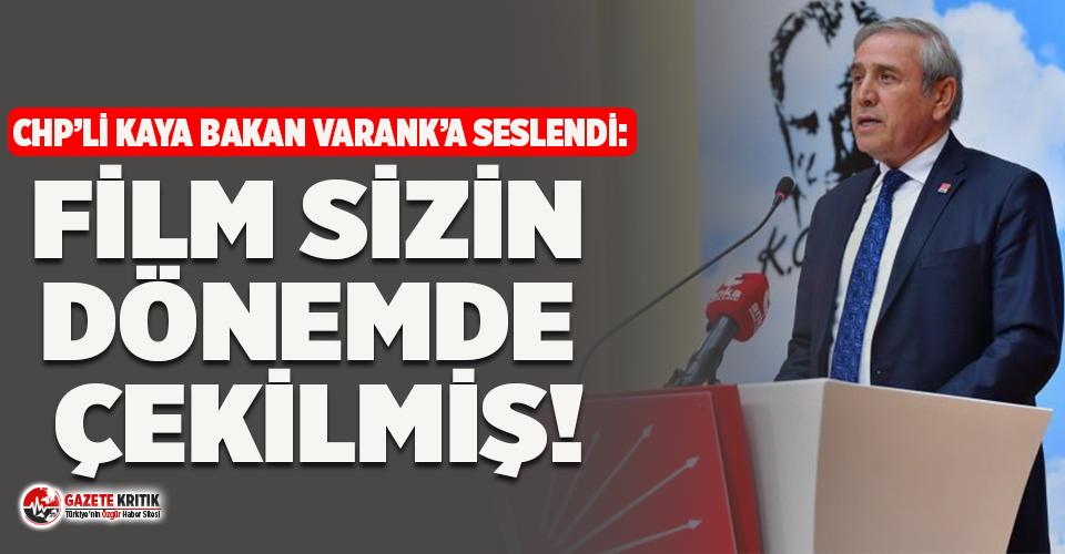 CHP'li Kaya 'İstanbul'da su kuyruğu' fotoğrafıyla ilgili Bakan Varank'a seslendi!