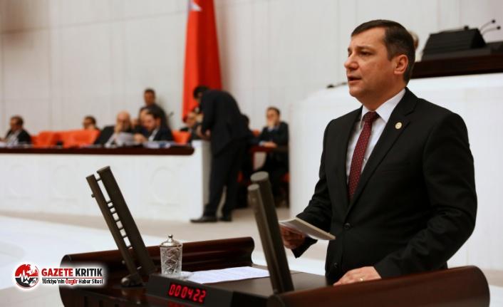 CHP'li Özgür Ceylan üniversiteli işçilerin sesi oldu: 'Eşit işe eşit ücret'