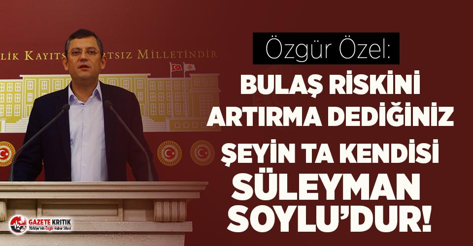 CHP'li Özgür Özel'den baro başkanlarının etrafındaki polis ablukasına tepki!