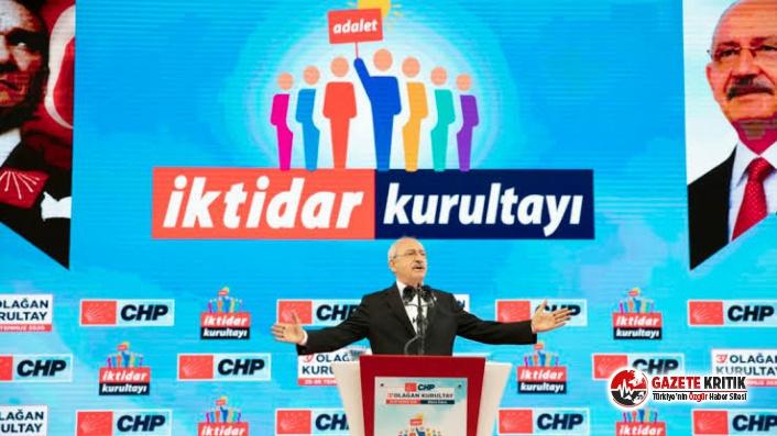 CHP Parti Meclisi'nin yedek ve asil üyeleri...