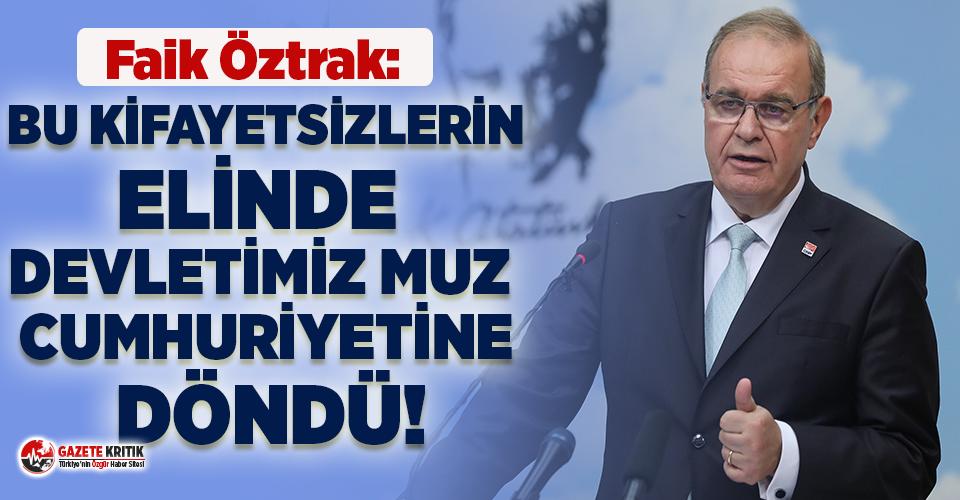 CHP Sözcüsü Öztrak'tan, Soylu ve AKP'li Metiner arasındaki atışmaya tepki!