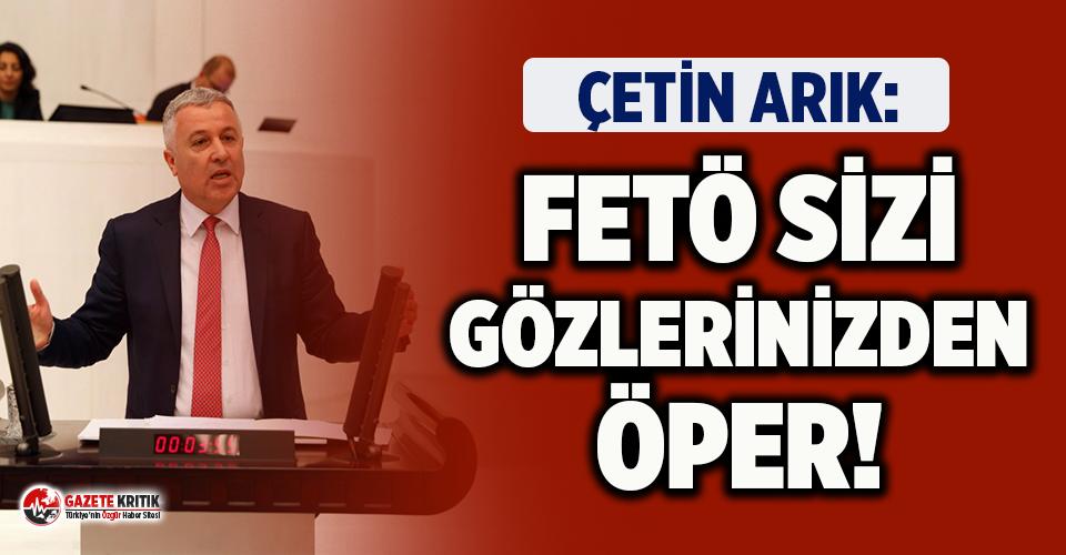 Çoklu Baro'nun Bir FETÖ Projesi Olduğunu Söyleyen CHP'li Arık AKP'lilere Seslendi!