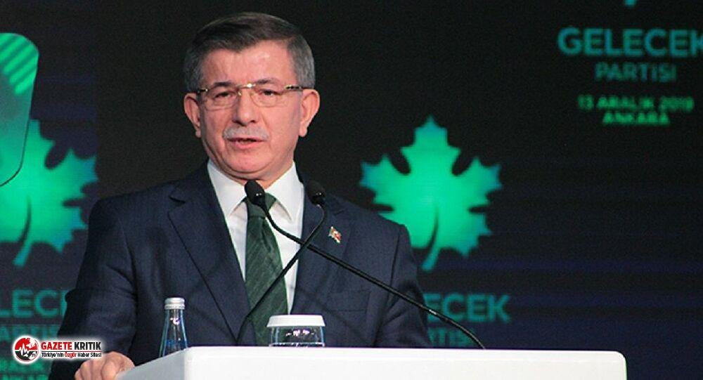 Davutoğlu sert sözler: Sorumlusu Erdoğan'dır!