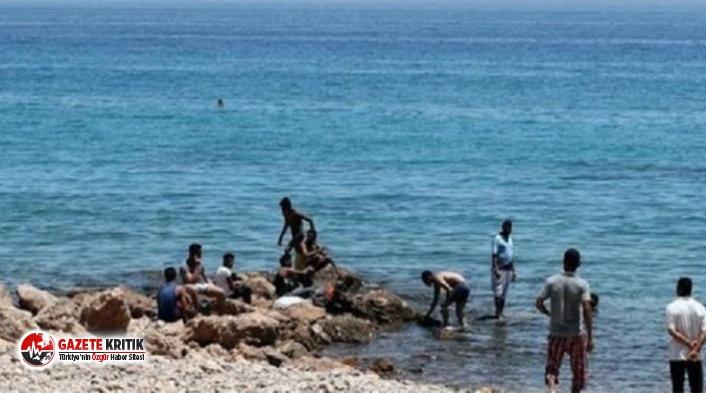 Denizde boğulan bir çocuğu kurtarmak isteyen 11...
