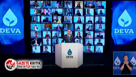 DEVA Partisi, genel merkezinin dijital açılışını...