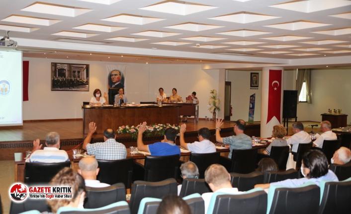 Efes Selçuk'ta pandemiden sonra ilk meclis:...
