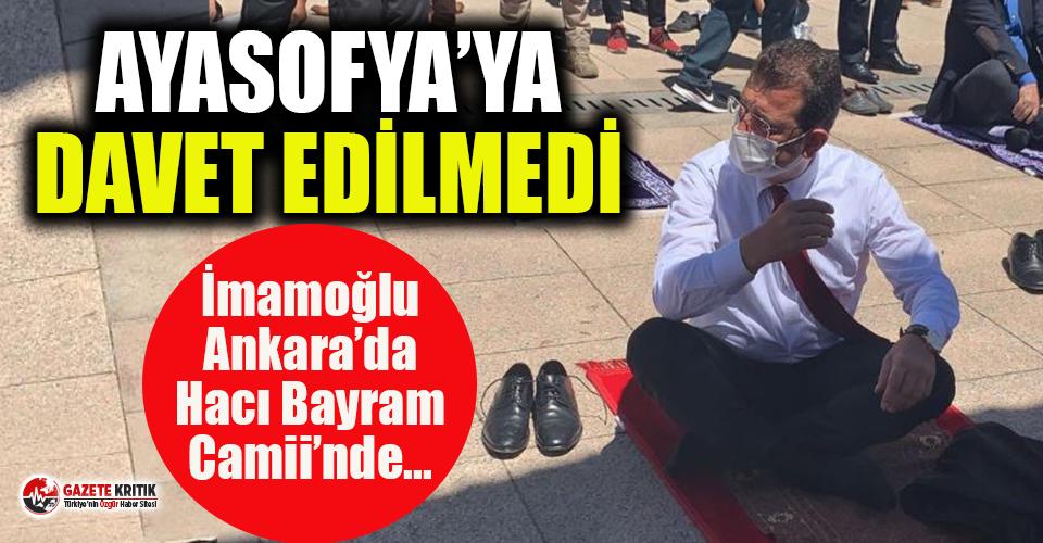 Ekrem İmamoğlu: Aklım İstanbul'da ne yapayım