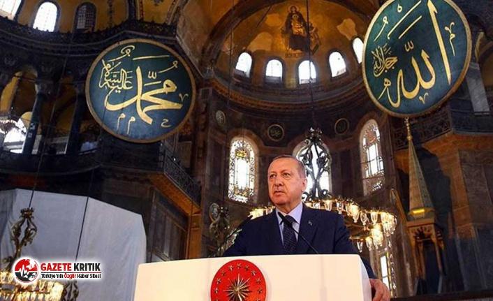 """Erdoğan, Atatürk'ün imzaladığı karara """"tarihe..."""
