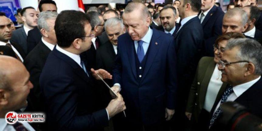Erdoğan ile İmamoğlu arasında sürpriz görüşme:  Oldu bu iş, mesele çözüldü