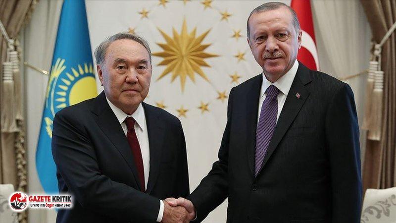 Erdoğan'dan Nazarbayev'e doğum günü tebriği