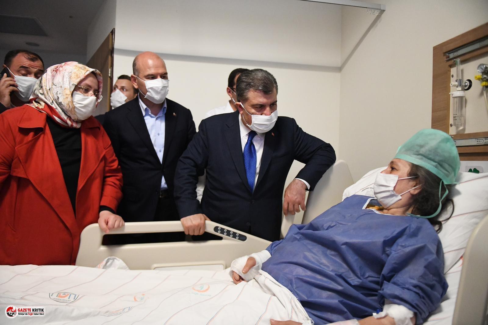 Fahrettin Koca açıkladı: Hastaneye kaldırılan...