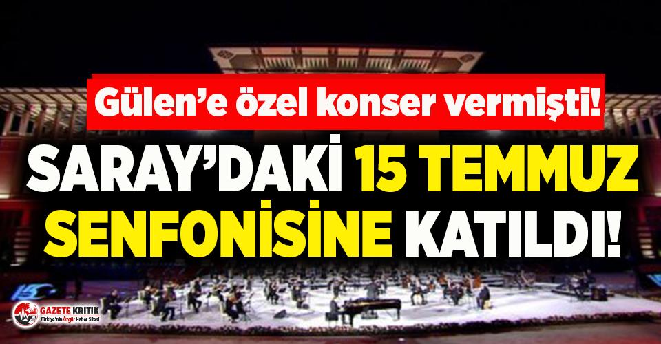Fethullah Gülen'e özel konser veren 'tasavvuf...