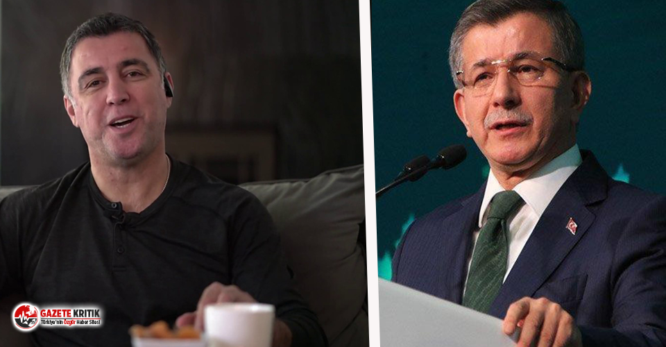 FETÖ firarisi Hakan Şükür'den Davutoğlu'na 'siyasi ayak' yanıtı: Ben istifa ettim, sen kovuldun