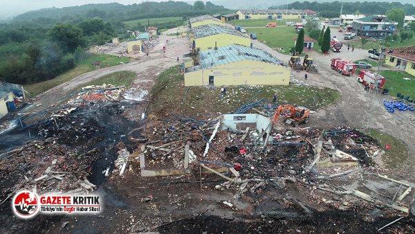 Hendek'teki patlamadan acı haber!