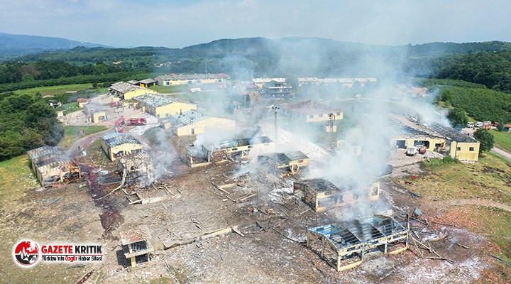 Hendek'teki patlamada gelişme: 4 kişiye tutuklama...