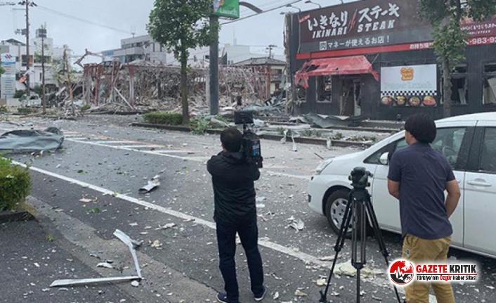 Japonya'daki bir restoranda patlama: 1 ölü, 18...