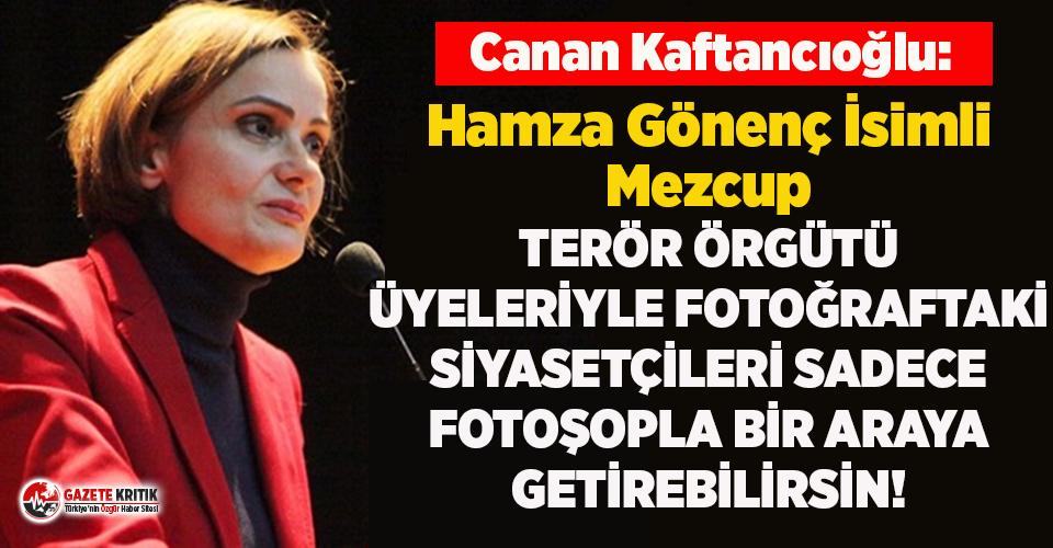 Kaftancıoğlu'ndan montaj fotoğraf paylaşan...