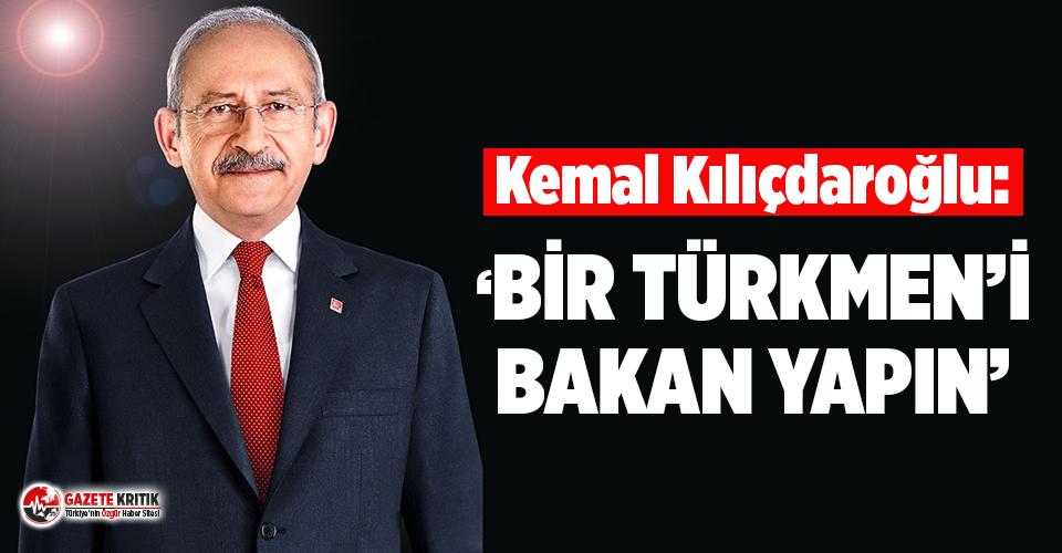 Kılıçdaroğlu'ndan Irak Başbakanı'na mektup: Bir Türkmen'i bakan yapın