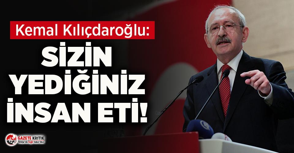 Kemal Kılıçdaroğlu'ndan patlama sonrası yenilen yemeğe çok sert sözler!