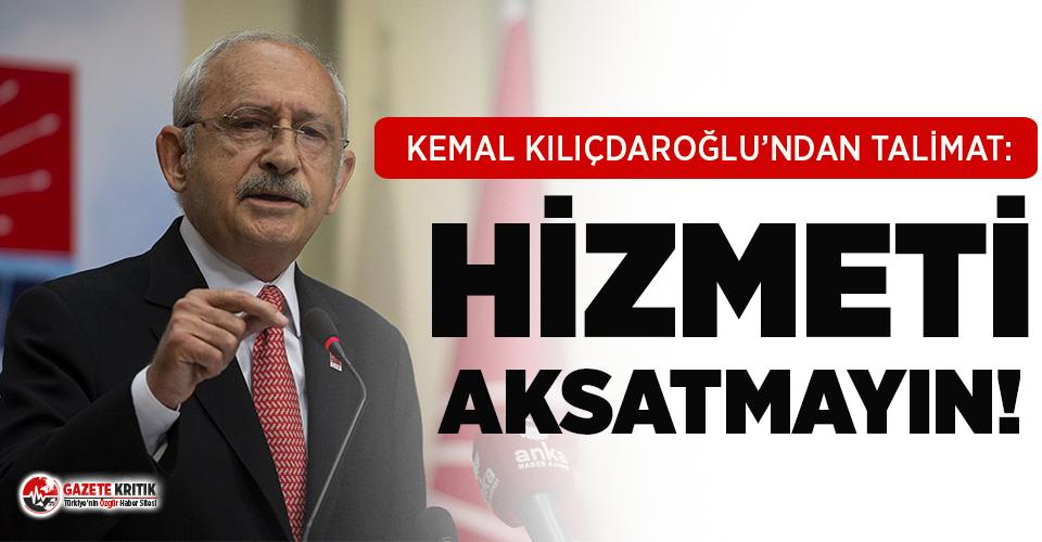 Kılıçdaroğlu'ndan büyükşehir belediye başkanlarına...