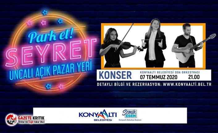 Konyaaltı'nda Park Et Seyret' konserleri başlıyor
