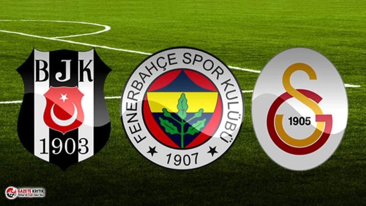 PFDK'dan Fenerbahçe, Beşiktaş ve Galatasaray'a ceza!
