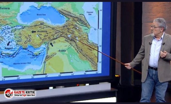 Prof. Dr. Naci Görür'den 7 şiddetinde deprem...