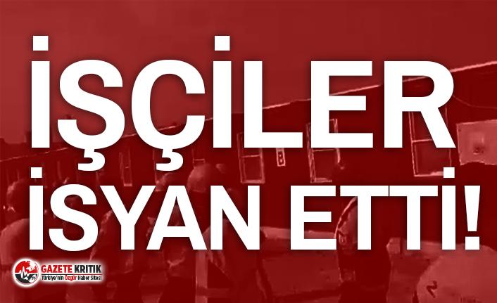 Rönesans Holding'in şantiyesinde isyan