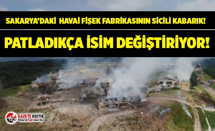 Sakarya'daki havai fişek fabrikası patladıkça...