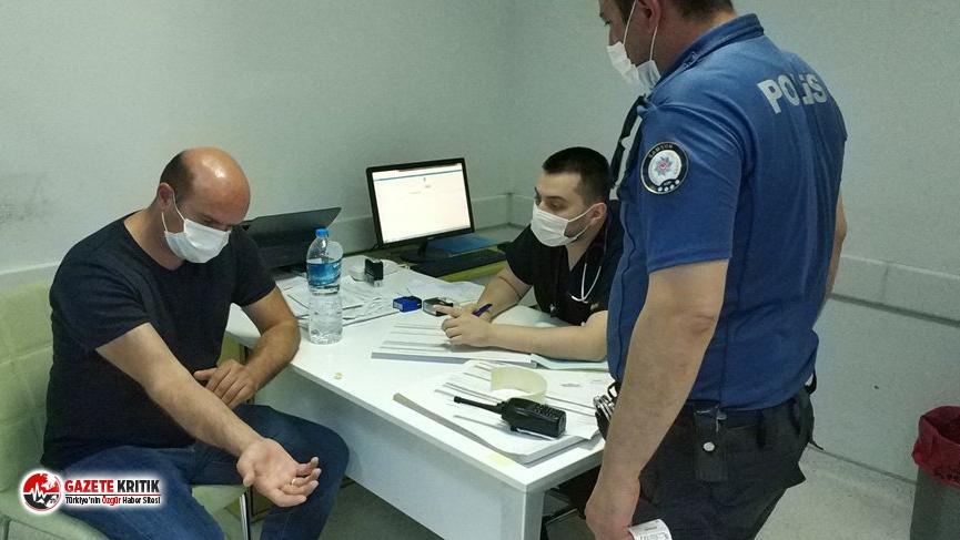 Samsun'da iki doktor cezaevinden yeni çıkan şahıs tarafından darp edildi