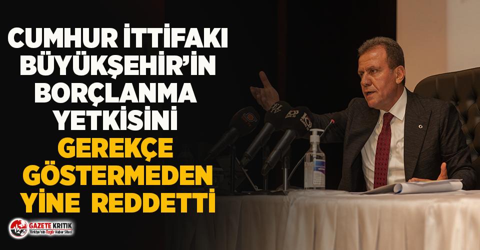 Seçer'in borçlanma yetkisi talebi ikinci kez Cumhur İttifakı'na takıldı!