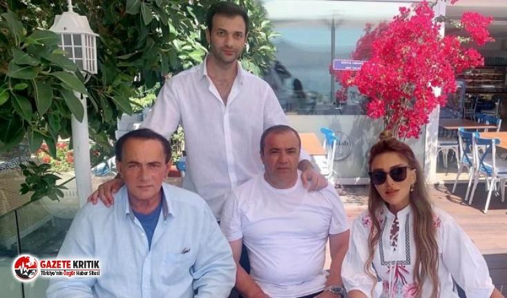 """Seren Serengil, Alaattin Çakıcı'yla fotoğrafını paylaştı: """"30 yıllık aile dostumuz"""""""
