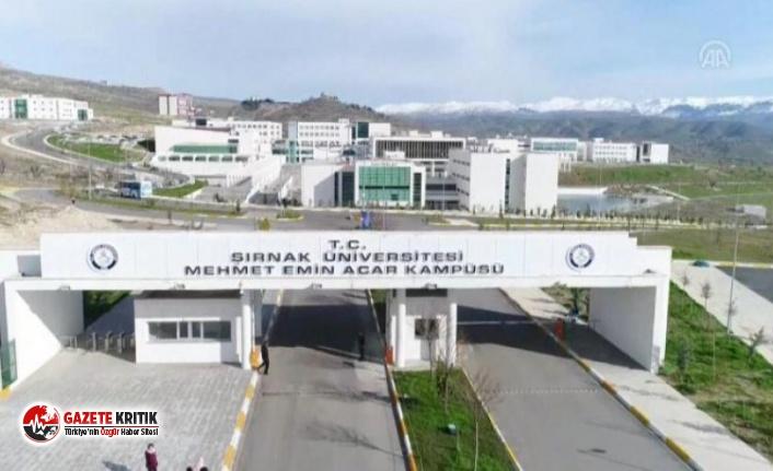 Şırnak Üniversitesi'nde Adrese Teslim Personel Alımı!