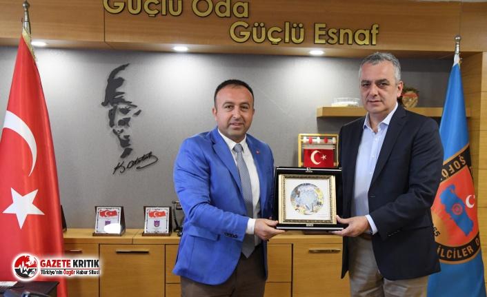 Taksicilerden Başkan Esen'e 'destek' teşekkürü