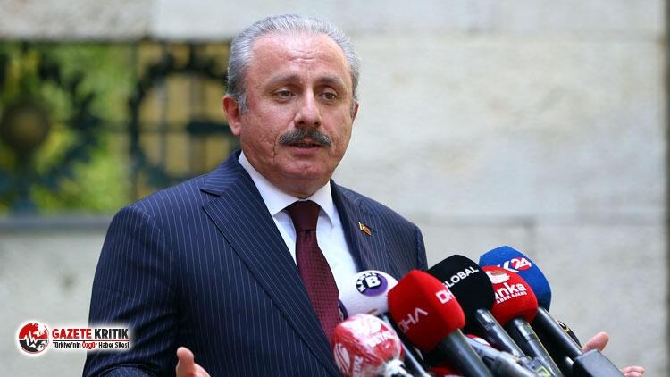 TBMM Başkanlığına aday olan AKP'li Şentop'tan...