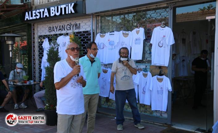 Tişört Üzerine Canlı Karikatür Sergisi Kartal'da Açıldı