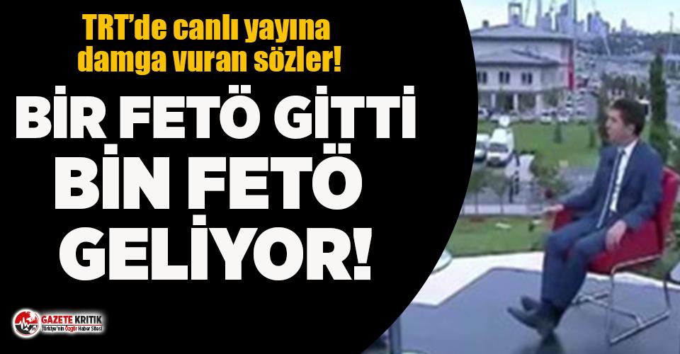 TRT'deki 15 Temmuz özel yayınına damga vuran...