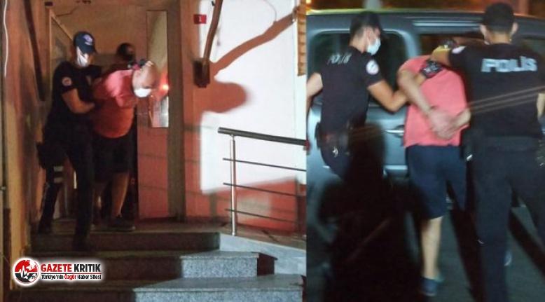 Türk Bayrağı'nı koparıp yere atan kişi tutuklandı