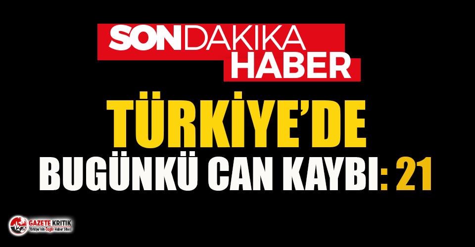 Türkiye'nin 11 Temmuz Koronavirüs tablosu:...