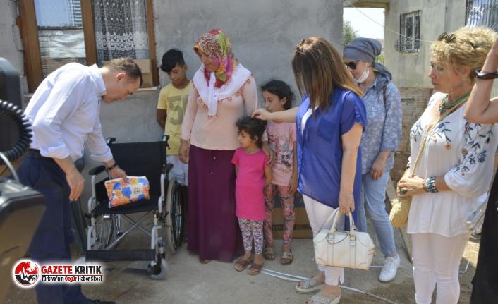 Yenişehir Belediyesinden engelli bireylere tekerlekli...