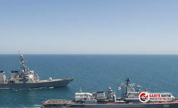 ABD deniz ve hava kuvvetlerinden Karadeniz'de...
