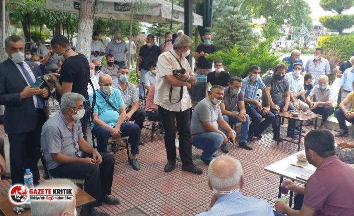 """Ağbaba kahveci esnafının sorunlarını dile getirdi: """"bu siyasi bir mesele değil; ekmek ve aş meselesi"""""""