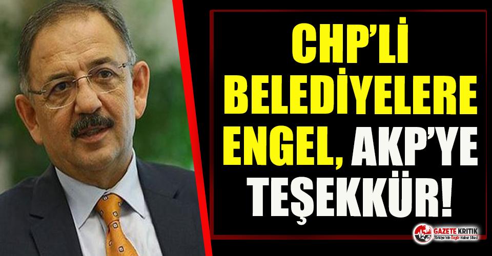AKP'li Özhaseki,  AKP'li belediye başkanlarına teşekkür etti