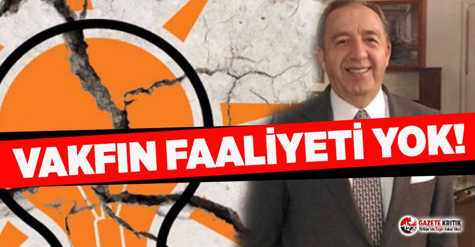 AKP'li vekilin kurucusu olduğu 'israfı önleme'...