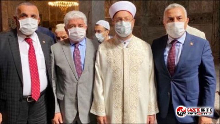 Ayasofya'daki açılışa katılan bir AKP'li vekilin daha koronavirüs testi pozitif çıktı