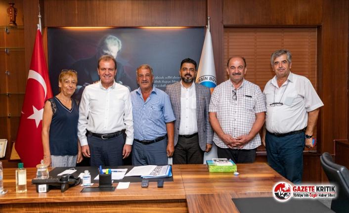 Başkan Seçer, Akdeniz Bölgesi Muhtar Temsilcileri...