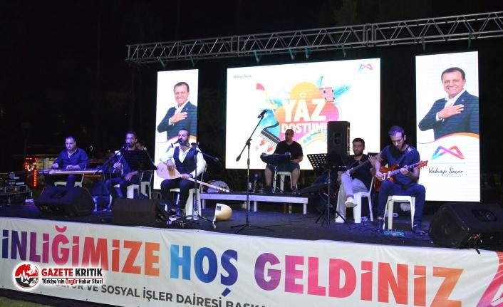 Büyükşehir'le Mersinliler müzik dolu bir...