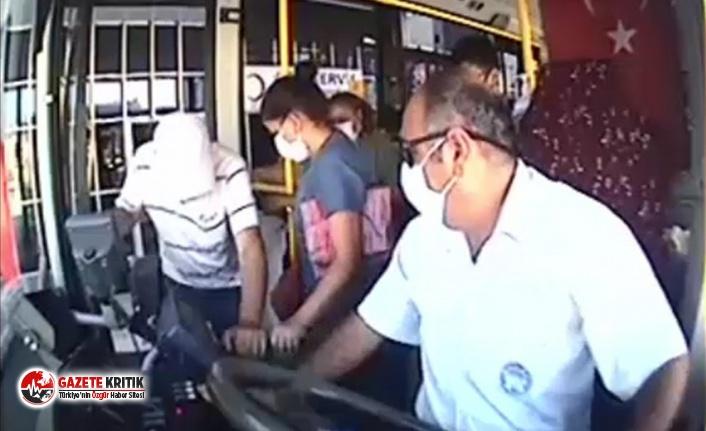 Büyükşehir otobüs şoföründen örnek davranış