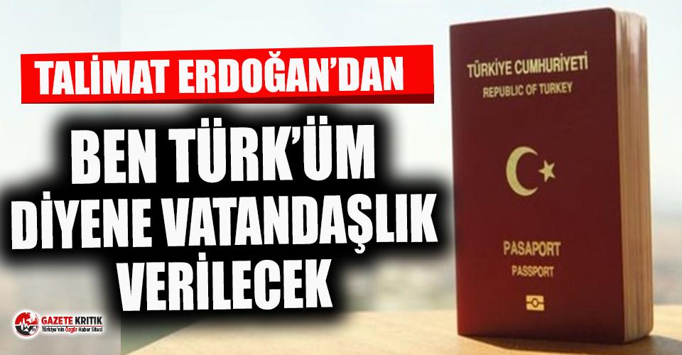 Çavuşoğlu: Ben Türk'üm diyene vatandaşlık verilecek