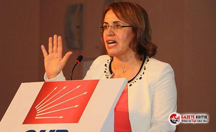 CHP Kadın Kolları Başkanı Köse'den tepki...